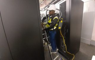 Server Cabinet Cleaning